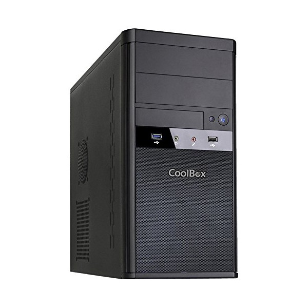 Image of   Mikro ATX mid-tower case CoolBox M55
