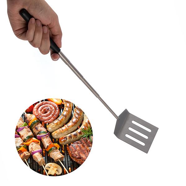 Image of   Mini ekspanderbar spatel til grill og stegepande