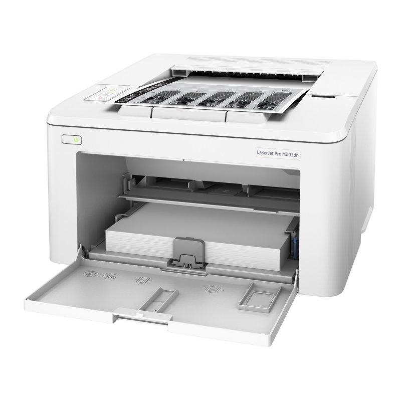 Image of   Monochrome Laser Printer HP LaserJet Pro M203dw WIFI 256 MB Hvid