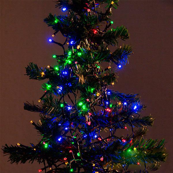 Image of   Multifarvede Julelys (560 LED)