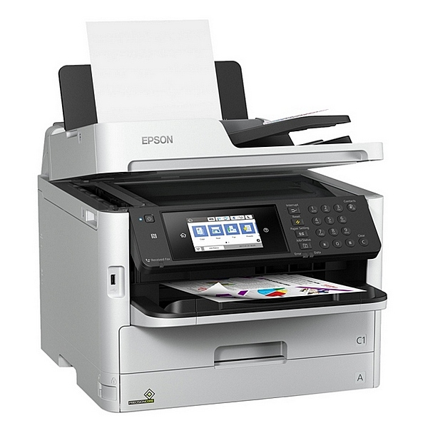 Image of   Multifunktionsprinter Epson WorkForce PRO WF-C5790DWF 34 ipm WIFI LAN Fax Hvid