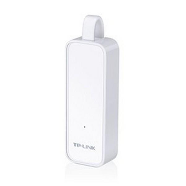 Image of   Netværksadapter TP-Link UE300 LAN 10/100/1000 Hvid