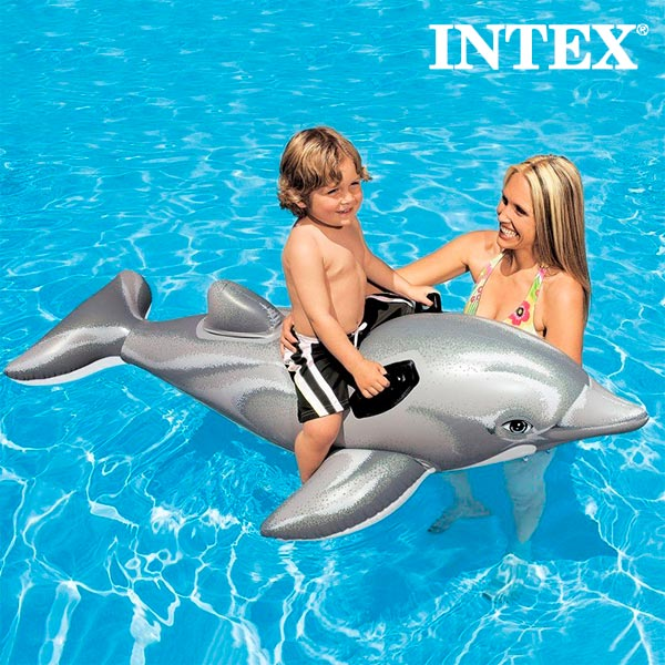 Image of   Oppustelig Delfin Intex