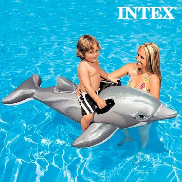 Image of   Oppustelig Delfin Intex