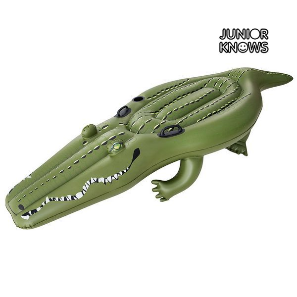 Image of   Oppustelig Figur til Pool Junior Knows 4397 Krokodrille