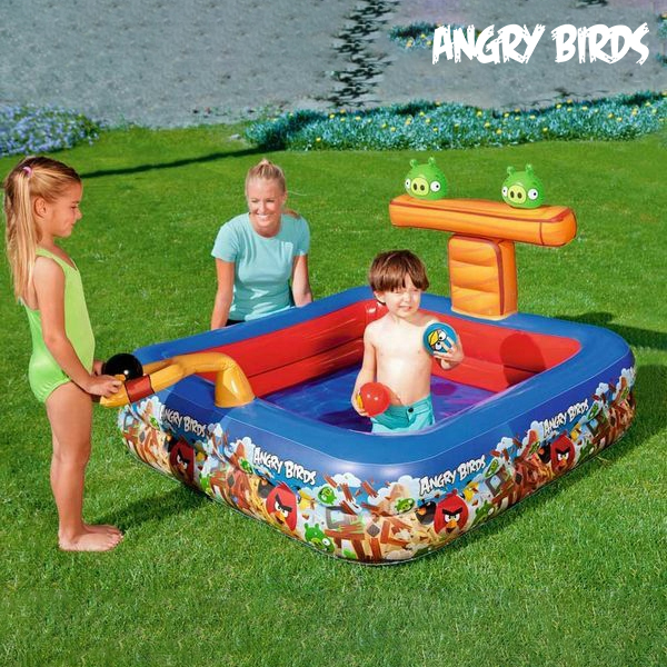 Image of   Oppustelig Pool Angry Birds 9555