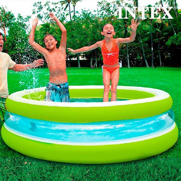 Image of   Oppusteligt Soppebassin til Børn Intex (Ø 203 cm)