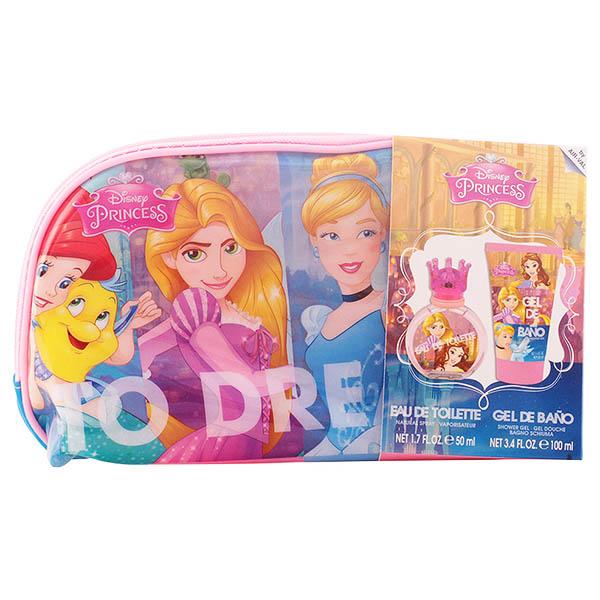 Image of   Parfume sæt til børn Princesas Disney Cartoon (3 pcs)