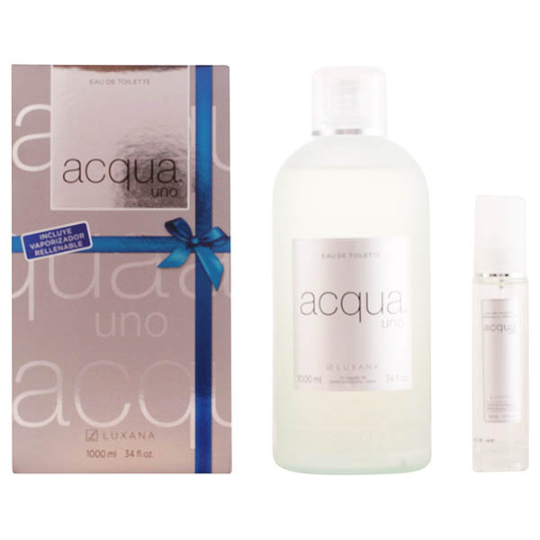 Image of   Parfume sæt til kvinder Acqua Uno Luxana 600001 (2 pcs)