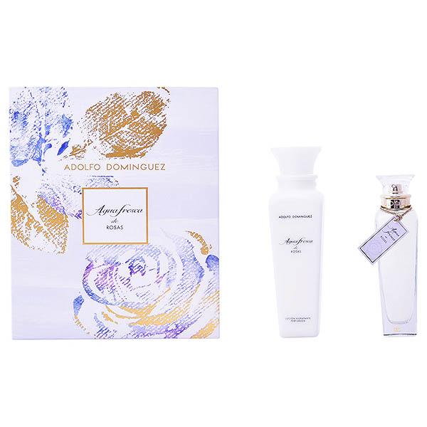 Image of   Parfume sæt til kvinder Agua Fresca De Rosas Adolfo Dominguez 129521 (2 pcs)