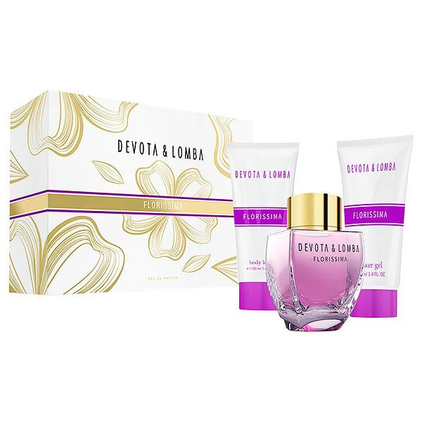 Image of   Parfume sæt til kvinder Devota & Lomba Florissima Devota & Lomba (3 pcs)