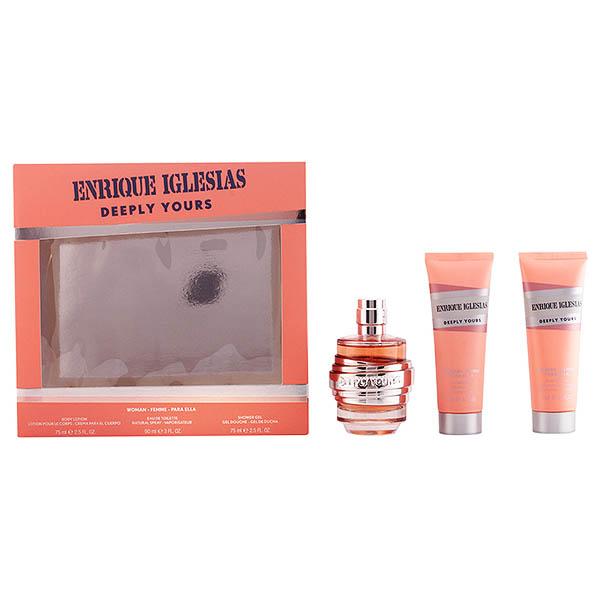 Image of   Parfume sæt til kvinder Enrique Iglesias Deeply Yours Woman Singers 925801 (3 pcs)