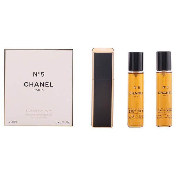 Image of   Parfume sæt til kvinder Nº 5 Chanel (3 pcs)