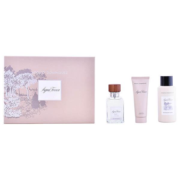 Image of   Parfume sæt til mænd Agua Fresca Adolfo Dominguez (3 pcs)