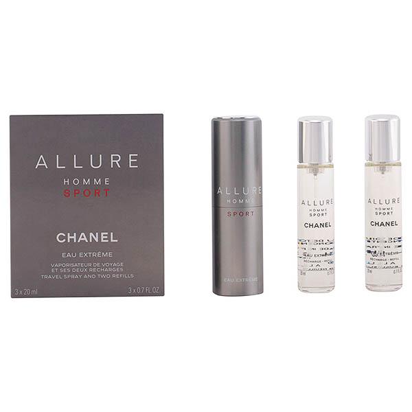 Image of   Parfume sæt til mænd Allure Homme Sport Chanel (3 pcs)