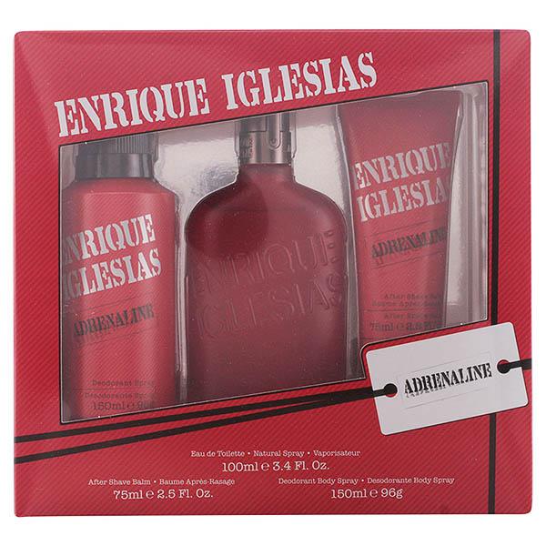 Image of   Parfume sæt til mænd Enrique Iglesias Adrenaline Singers (3 pcs)