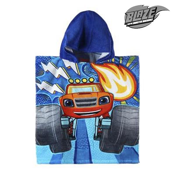 Image of   Poncho-håndklæde med Hætte Blaze and the Monster Machines 801