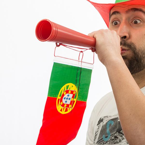 Image of   Portugisisk Flag Stadionhorn