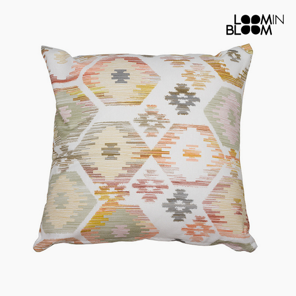 Image of   Pude Beige (45 x 45 cm) - Jungle Samling by Loom In Bloom