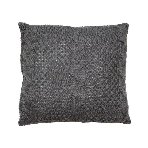 Image of   Pude Stitch Grå (45 X 45 x 10 cm)
