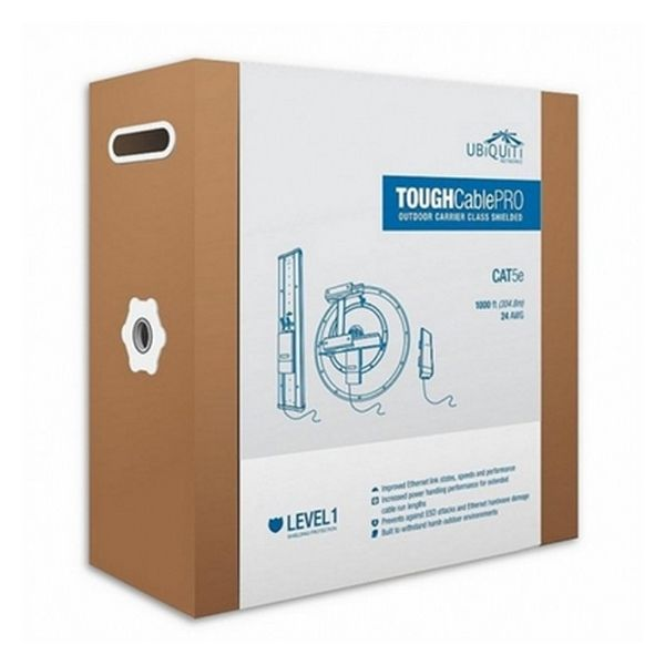 Image of   Reinforced Exterior Network Cable Category 5e UBIQUITI TC-PRO Level 1 305 m Sort