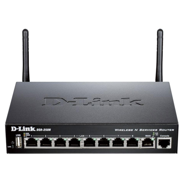 Image of   Router D-Link DSR-250N Wifi 300 Mbps
