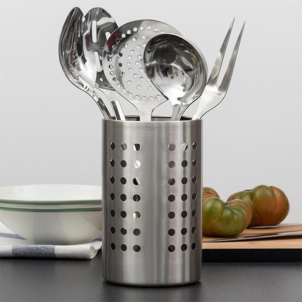 Image of   Sæt med Køkkenredskaber i Rustfrit Stål