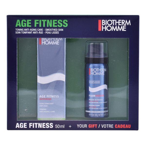 Image of   Sæt til barbering Homme Age Fitness Biotherm (2 pcs)