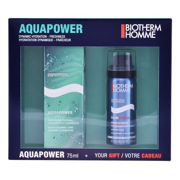 Image of   Sæt til barbering Homme Aquapower Biotherm (2 pcs)