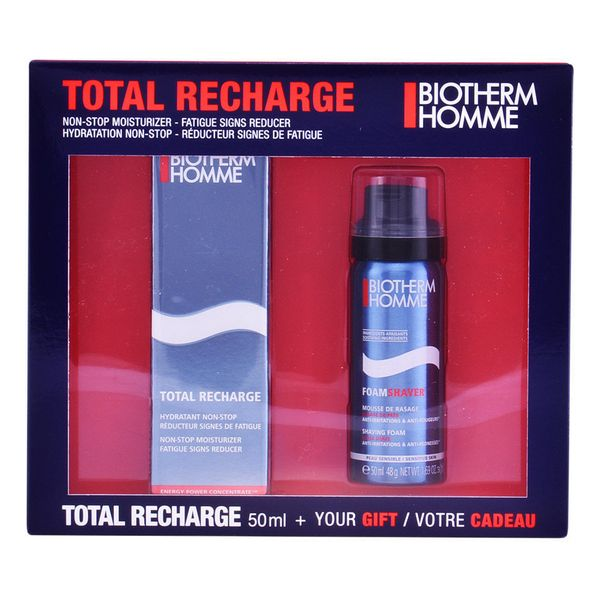 Image of   Sæt til barbering Homme Total Recharge Biotherm (2 pcs)
