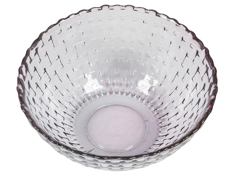 Image of   Salatskål i genbrugsglas (Ø 13 cm) Lilla - Crystal Colours Kitchen Samling