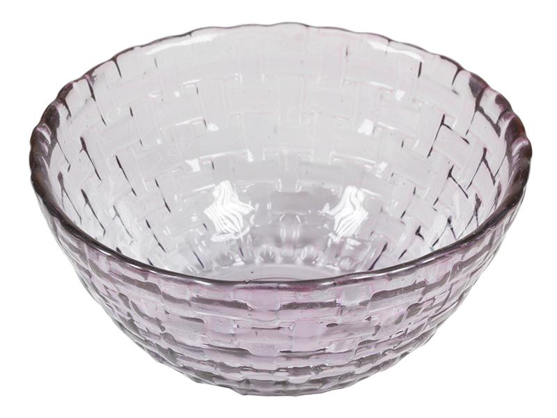 Image of   Salatskål i genbrugsglas (Ø 17 cm) Lilla - Crystal Colours Kitchen Samling