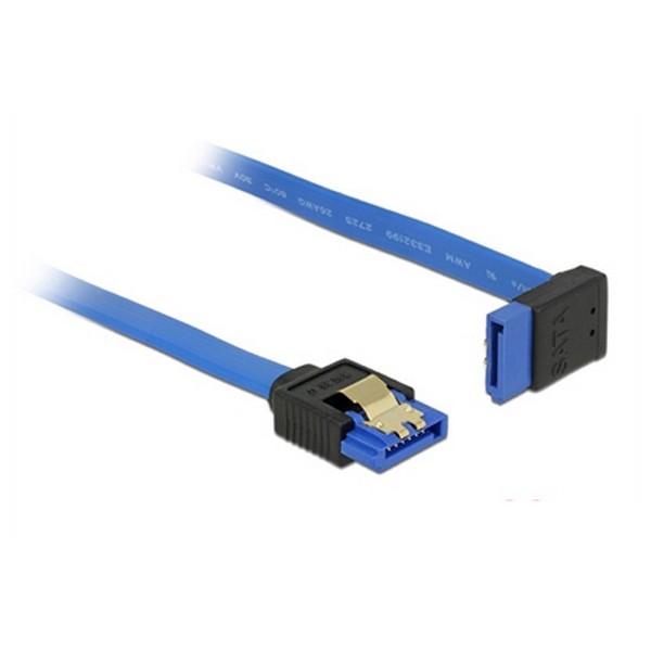 Image of   SATA-kabel DELOCK 84996 30 cm Blå