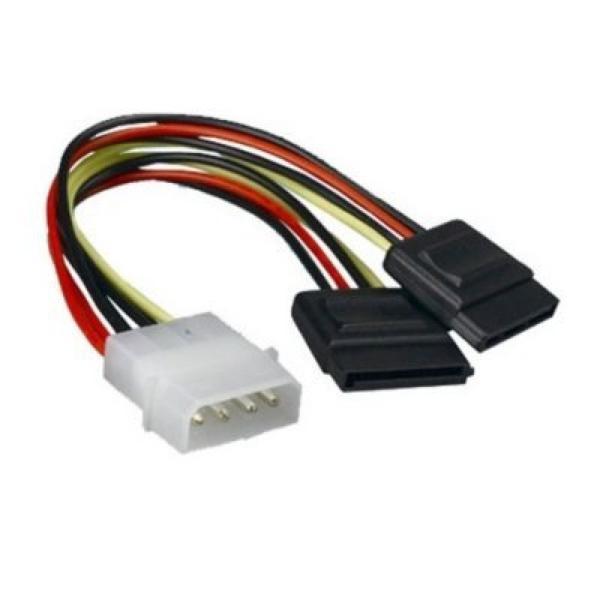 Image of   SATA strømkabel NANOCABLE 10.19.0102 30 cm