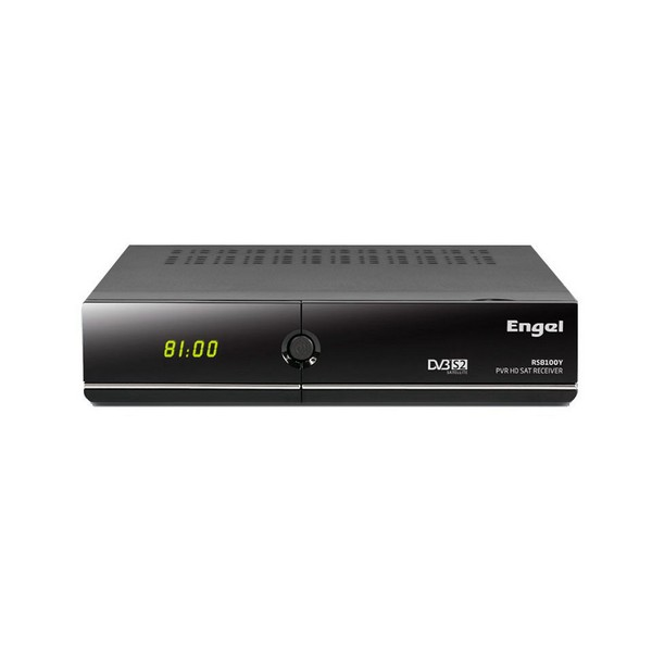 Image of   Satellitmodtager Engel RS8100Y HD PVR Sort