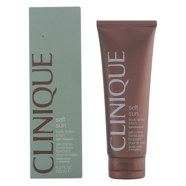 Image of   Selvbruner [Creme/Spray/Mælk] Sun Body Tinted Light Clinique (125 ml)