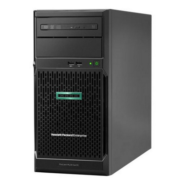 Image of   Servertårn HPE ProLiant ML30 Gen10 Xeon E-2124 8 GB RAM LAN Sort