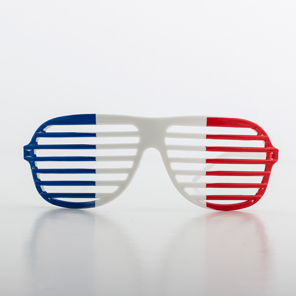 Image of   Shutterbriller med Fransk Flag