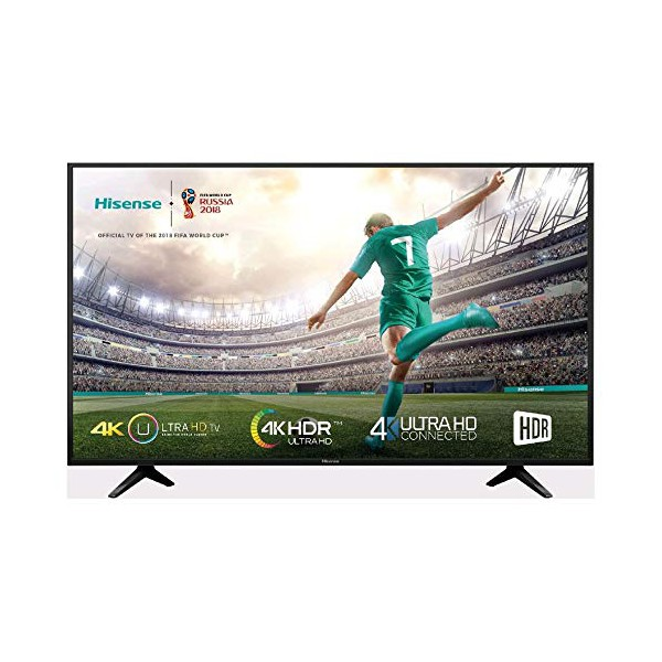 "Image of   Smart TV Hisense 50A6140 50"" 4K Ultra HD WIFI HDR Sort"