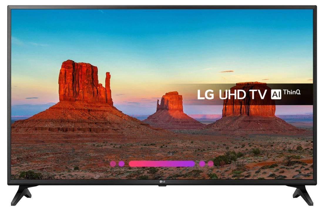 "Image of   Smart TV LG 49UK6200PLB 49"" LED UHD WIFI Sort"