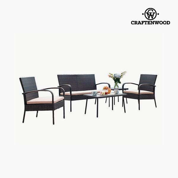 Image of   Sofa og spisebordssæt (5 pcs) by Craftenwood