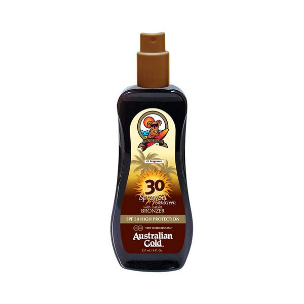Image of   Solbeskyttelse - gel Instant Bronzer Australian Gold SPF 30 (237 ml)