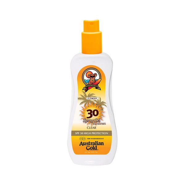 Image of   Solbeskyttelse - gel Sunscreen Spray Australian Gold SPF 30 (237 ml)