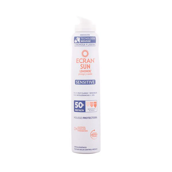Image of   Solbeskyttelse - mousse Sensitive Ecran SPF 50+ (200 ml)