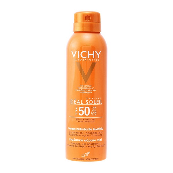 Image of   Solbeskyttelse - spray Capital Soleil Vichy Spf 50 (200 ml)