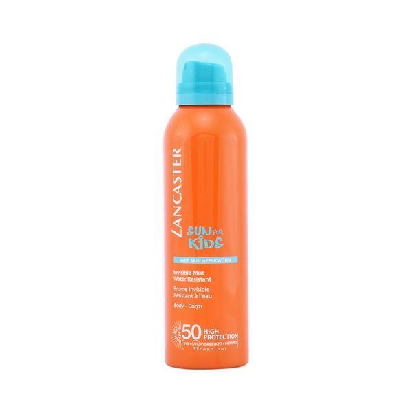 Image of   Solbeskyttelse - spray Sun Kids Wet Skin Lancaster SPF 50 (200 ml)