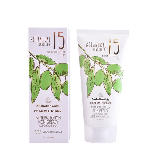 Image of   Solbeskyttelsee - lotion Botanical Australian Gold SPF 15 (147 ml)