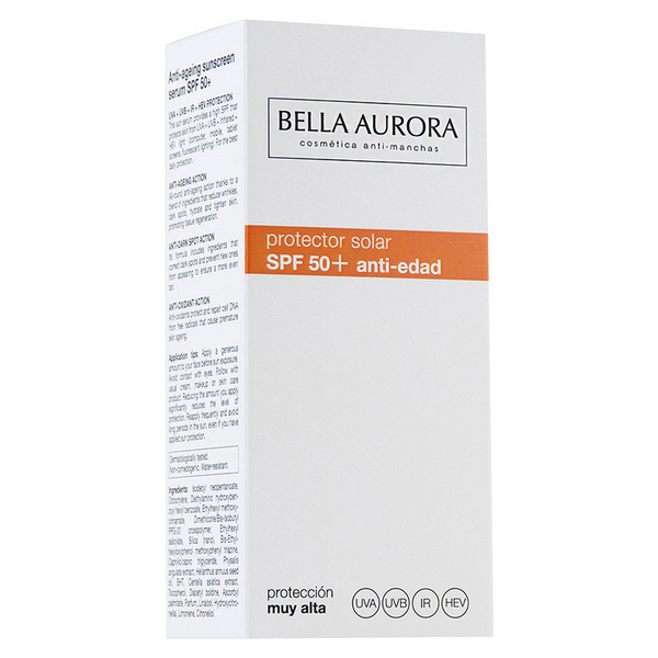 Image of   Solblogger Bella Aurora SPF 50+ (30 ml)