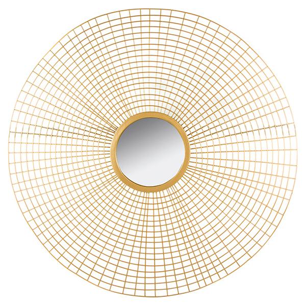 Image of   Spejl Golden Circle (96 x 3 x 96 cm)