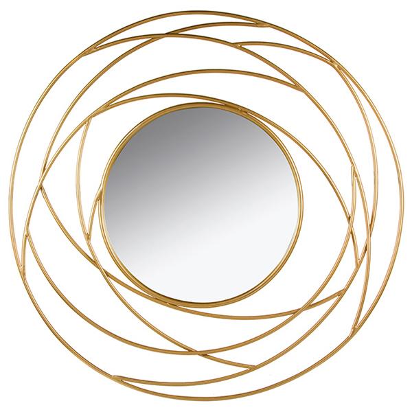 Image of   Spejl Golden Eye (100 x 3 x 100 cm)